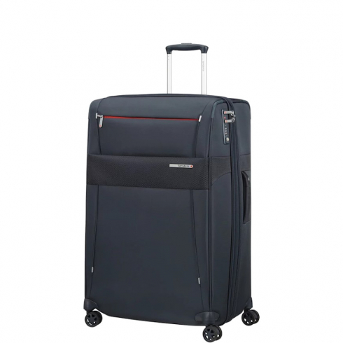 Valigia Trolley Duopack Spinner Exp L Blue