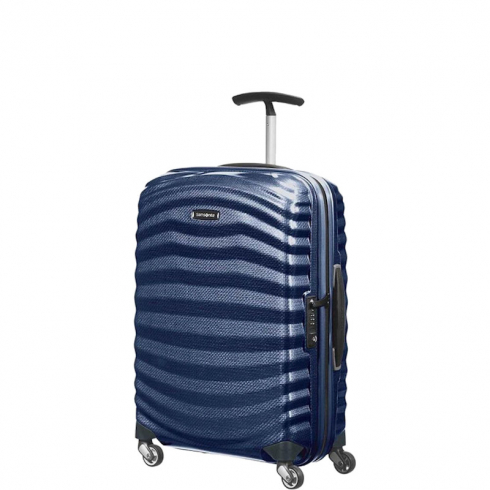 Valigia Trolley Lite-Shock Spinner S Midnight Blue