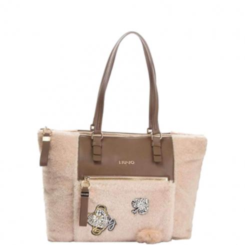 Borsa Shopping Bag L Brenta Sheep N68060E0412 Soia