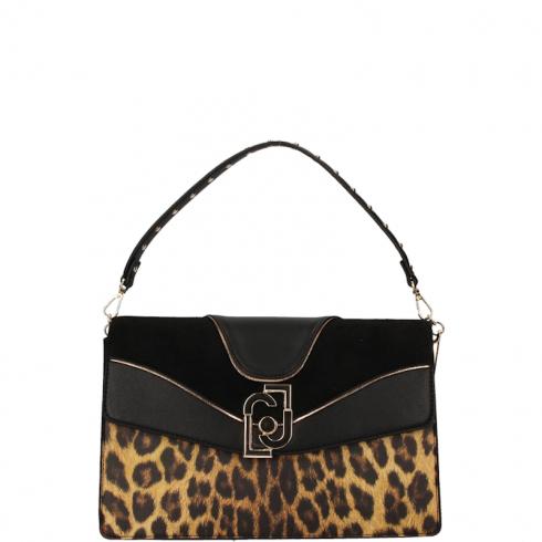 Borsa Hand Bag M A69036E0329 Leopardo Marrone
