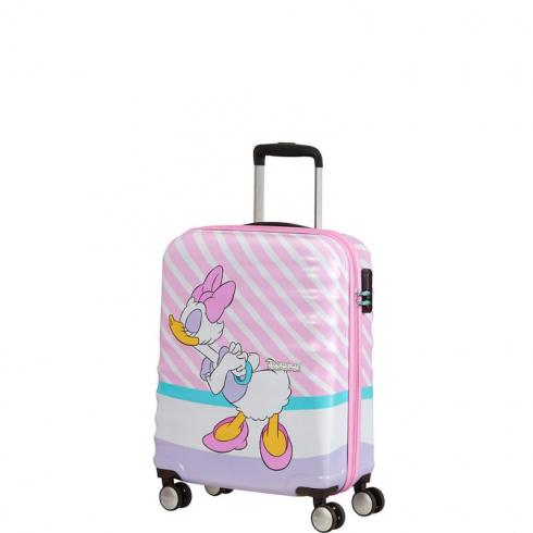 Valigia Trolley Wavebraker Disney Spinner S Daisy Pink Kiss