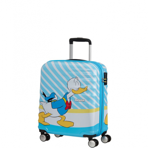 Valigia Trolley Wavebraker Disney Spinner S Donald Blue Kiss