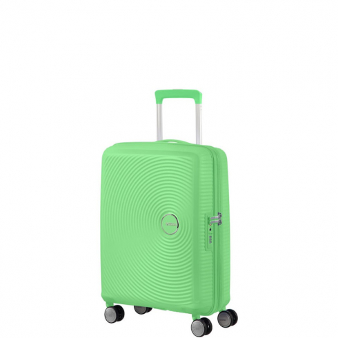 Valigia Trolley Soundbox Spinner Exp S Spring Green