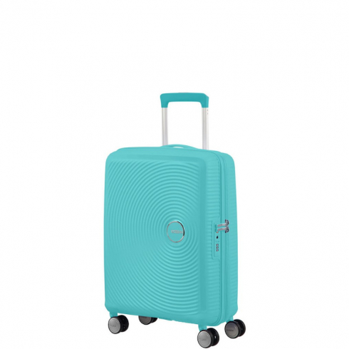 Valigia Trolley Soundbox Spinner Exp S Poolside Blue