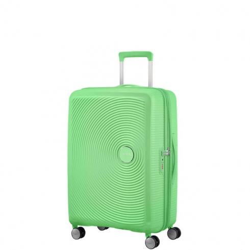 Valigia Trolley Soundbox Spinner Exp M Spring Green