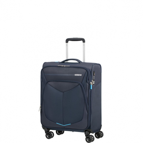 Valigia Trolley SummerFunk Spinner Exp S Navy