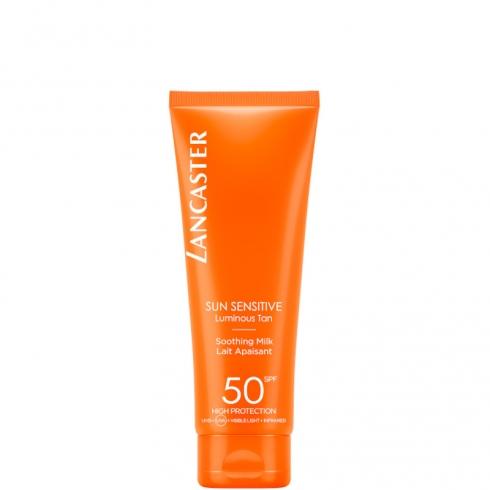 Sun Sensitive - Luminous Tan Soothing Milk SPF 50 Body