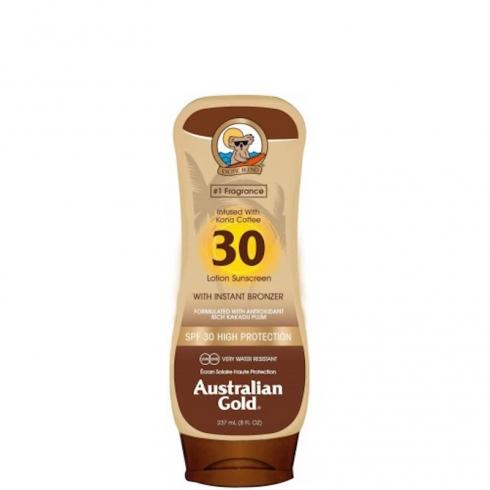 Lotion Sunscreen SPF 30 con Kona Coffee ed effetto Bronze