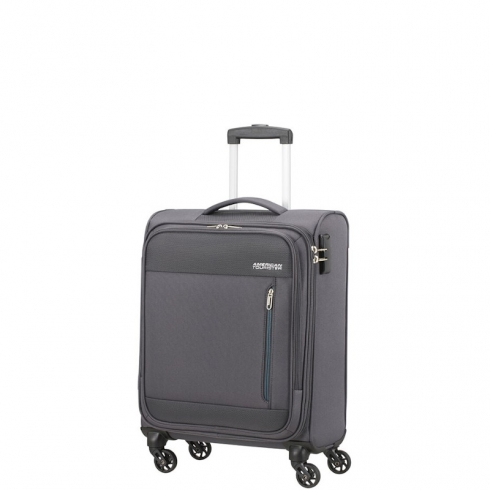 Valigia Trolley Heat Wave Spinner S Charcoal Grey
