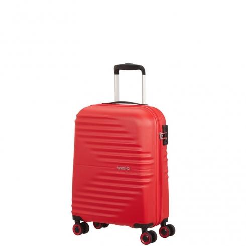 Valigia Trolley Wavetwister Spinner S Vivid Red