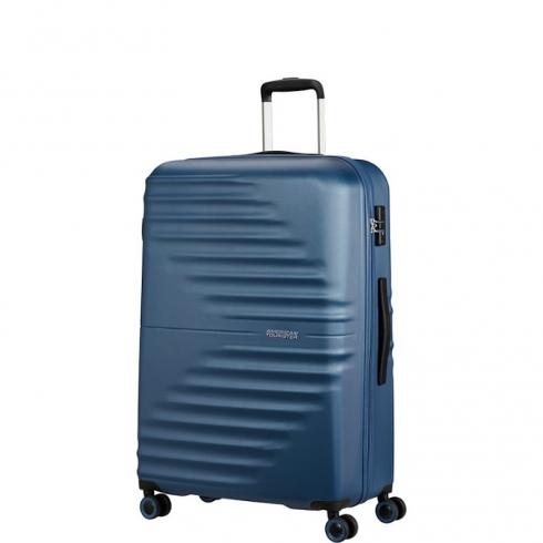 Valigia Trolley Wavetwister Spinner L Dark Navy