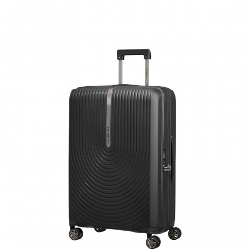 Valigia Trolley Hi-Fi Spinner Exp. M Black