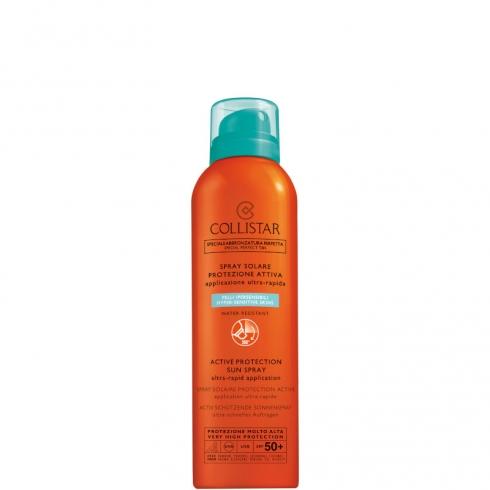 Spray Solare Protezione Attiva SPF 50 + Pelli Ipersensibili