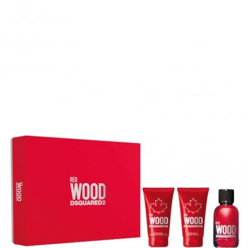 Red Wood Dsquared2 Pour Femme Confezione