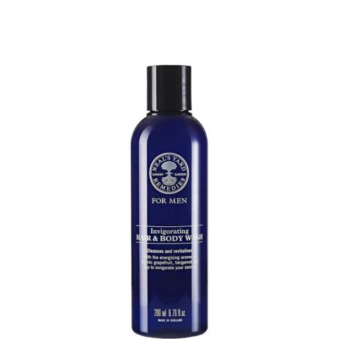 For Men Invigorating Hair & Body Wash
