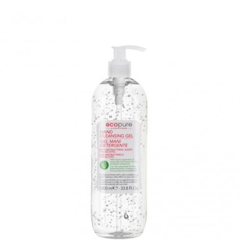 EcoPure Gel Mani Detergente Alcolica Antibatterico