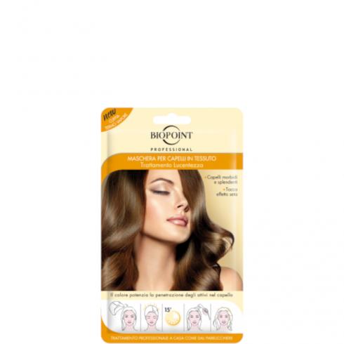 Maschera per capelli in tessuto Lucentezza