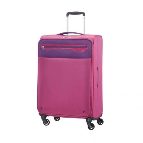 Valigia Trolley Lightway Spinner M Pink Purple