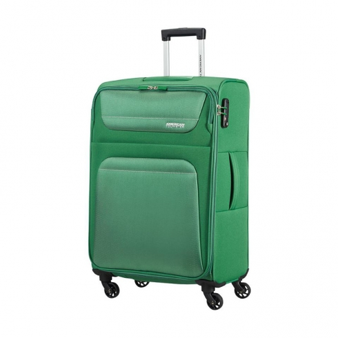 Valigia Trolley Spring Hill Spinner M Bamboo Green