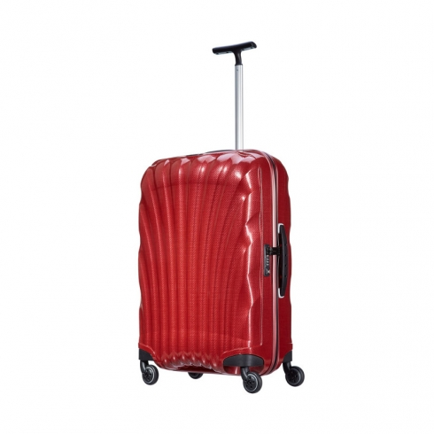 Valigia Trolley Cosmolite Spinner M red