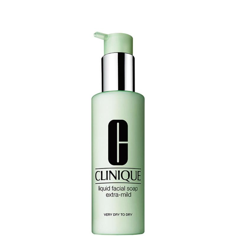 Clinique Liquid Facial Soap Extra-Mild Pelle da Molto Arida ad Arida TIPO 1 200 ML