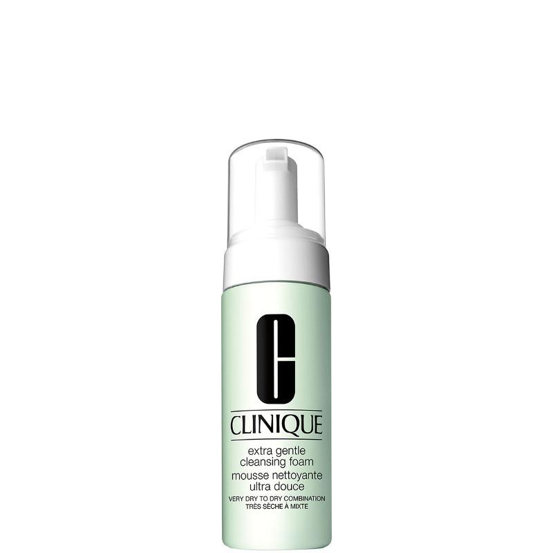 Clinique Extra Gentle Cleansing Foam - Detergente in Schiuma per pelli Aride e Sensibili 125 ML