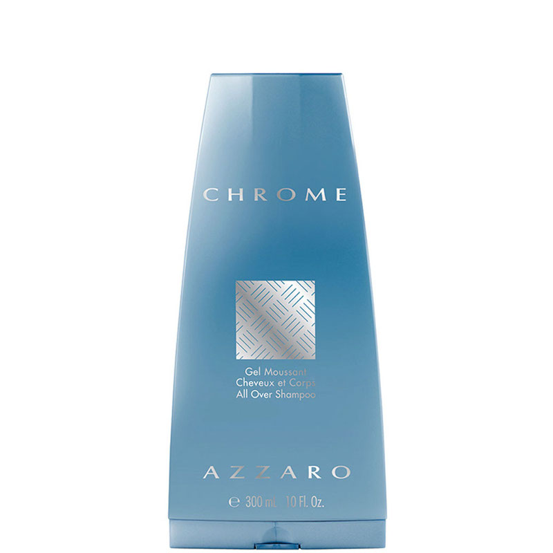 Chrome shower gel doccia satinato 300 ML
