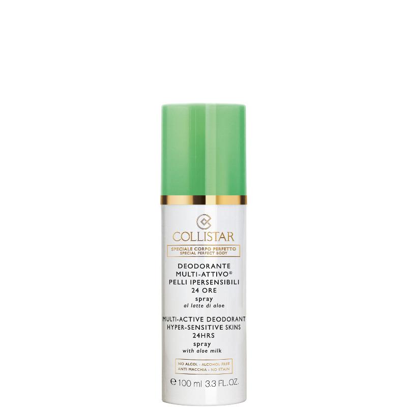Collistar deodorante multi attivo pelli ipersensibili 24 ore spray al latte di aloe alcohol free 100 ML