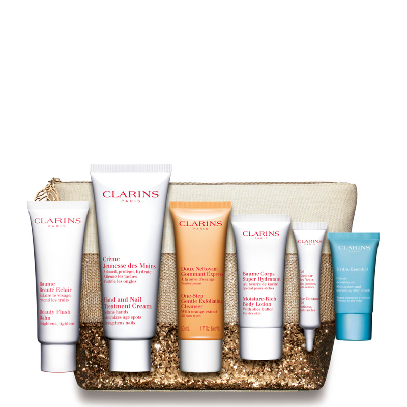 clarins baume beaut eclair confezione crema cod 22043. Black Bedroom Furniture Sets. Home Design Ideas