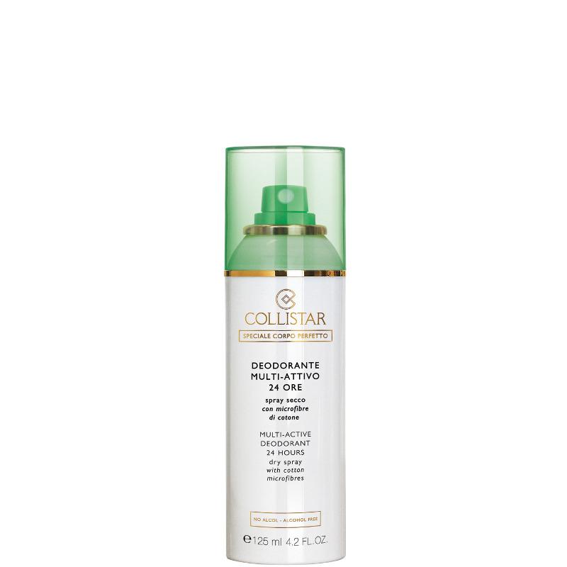 Collistar deodorante multi attivo 24 ore spray secco con microfibre di cotone 125 ML