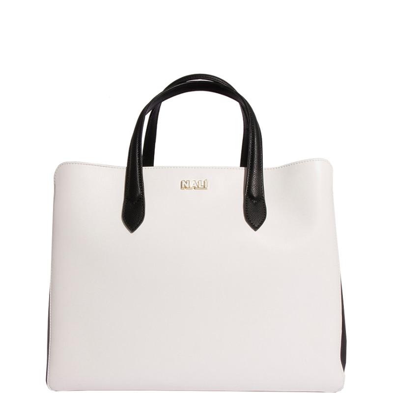56c3c95d88 Nalì Borsa Hand Bag Bianco / Nero YIBS0257 Collore Bianco / Nero colore  Multicolor