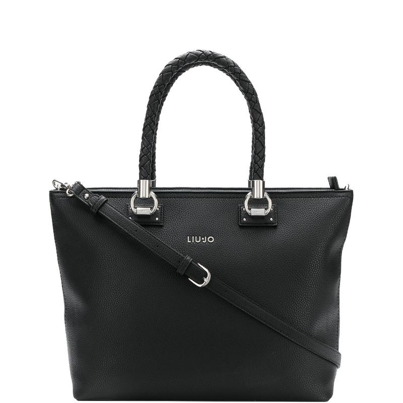 a43fb8364f Liu jo Borsa Shopping Bag L Manhattan A68094E0011 Nero A68094E0011 Colore  Nero 22222 colore Nero