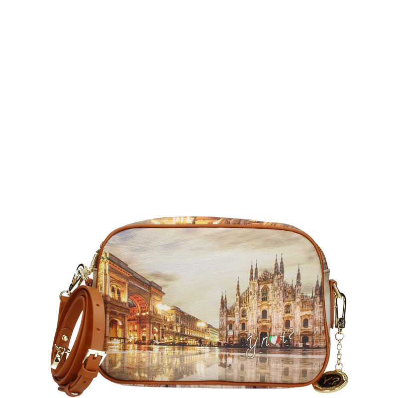 Y Not  Borsa Tracolla S Tan Gold Milano Sunset K 310 cod. 23762 77d246a7624