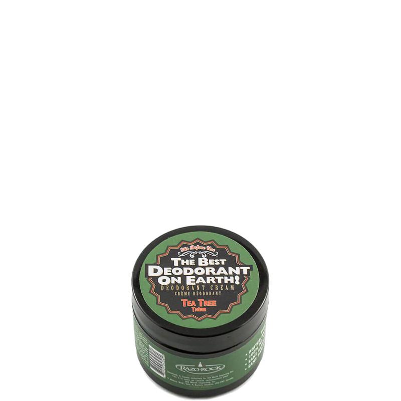 RazoRock The Best Deodorant On Earth! Deodorante in Crema Tea Tree 75 GR