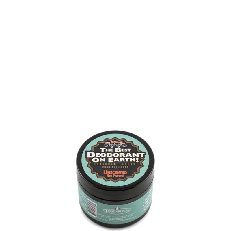 RazoRock The Best Deodorant On Earth! Deodorante in Crema Unscented 75 GR