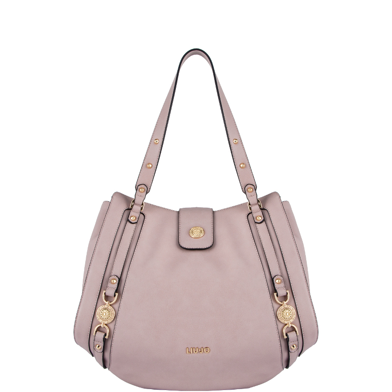 Liu jo Borsa Shopping Bag IT BAG L A19202E0027 Quarzo Rosa cod. 24767 6c57ec52c68