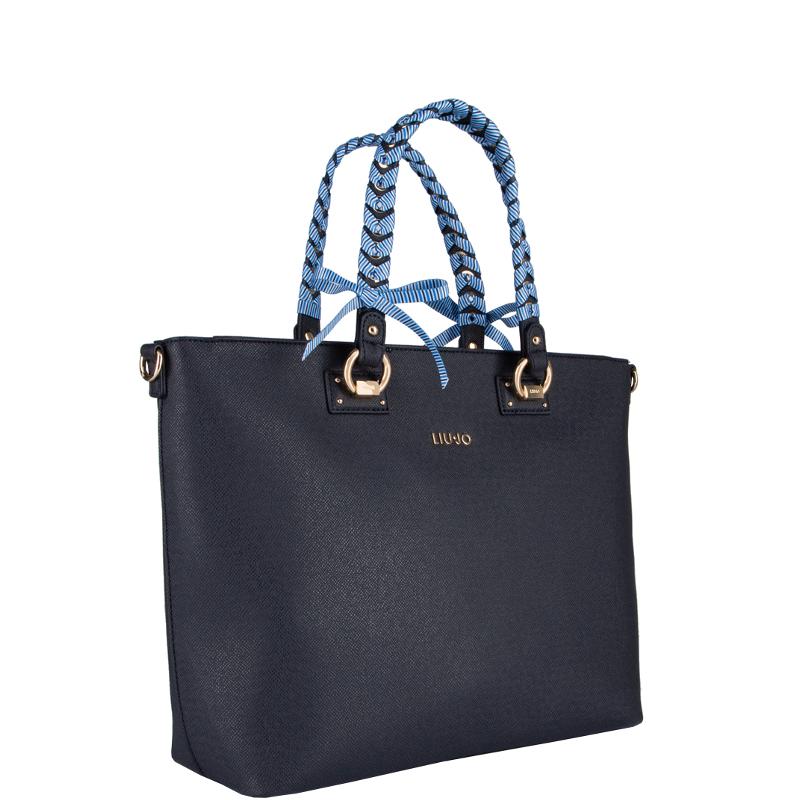 Liu jo Borsa Shopping Bag L Manhattan N19094E0017 Midnight cod. 25158 ff6c405d2c7