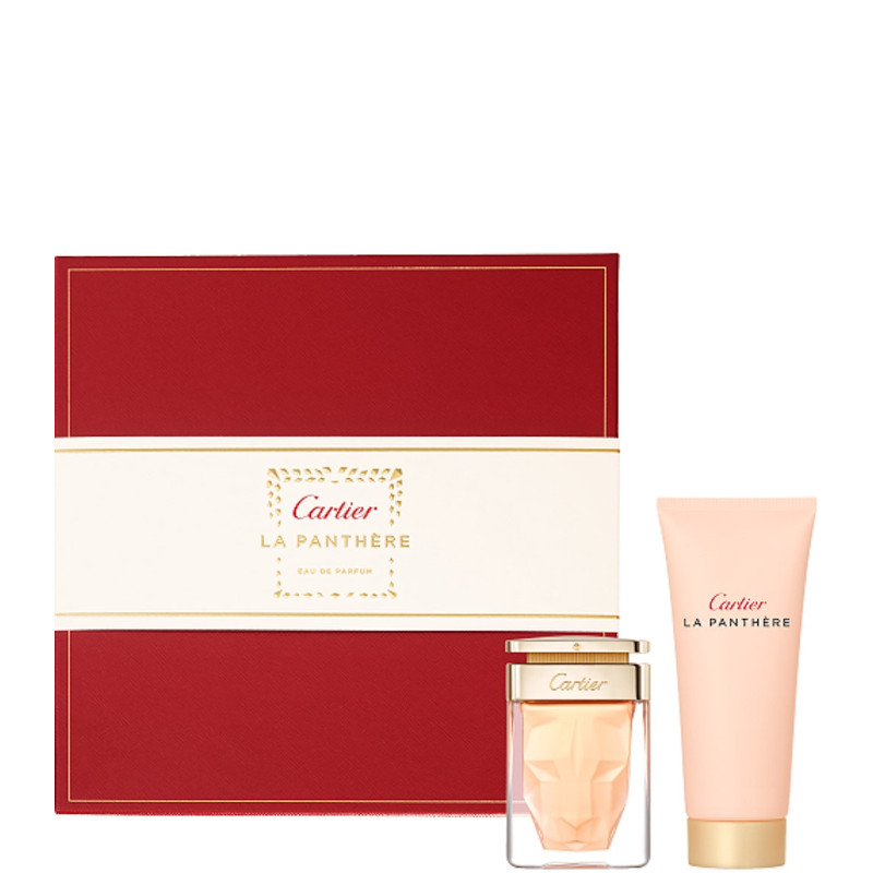 La Panthère Cartier La Panthère EDP Confezione 50 ML Eau de Parfum + 100 ML Shower Gel