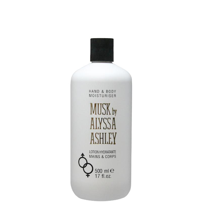 Alyssa ashley musk latte vellutato per il corpo 500 ML