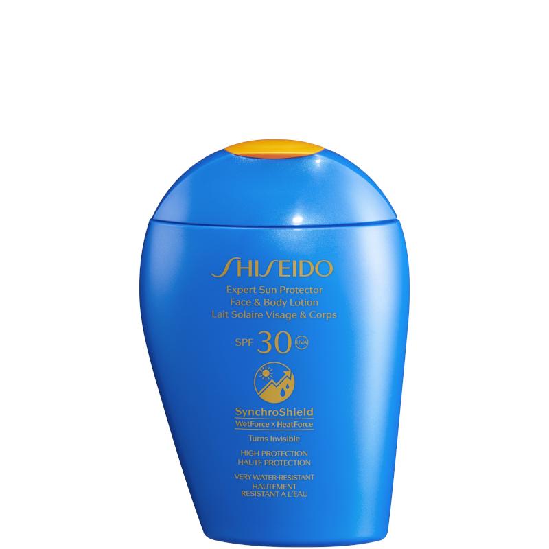 Shiseido Expert Sun Protector Face & Body SPF 30 + - Lozione Solare Viso-Corpo 150 ML