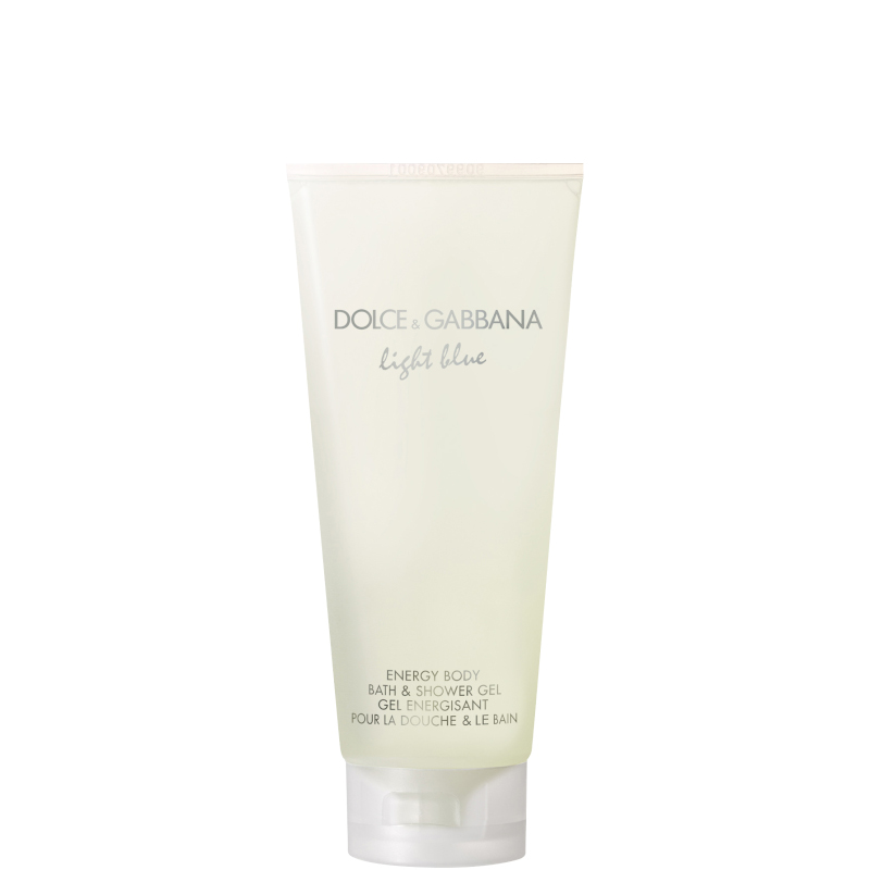 Dolceegabbana light blue pour femme shower gel 200 ML