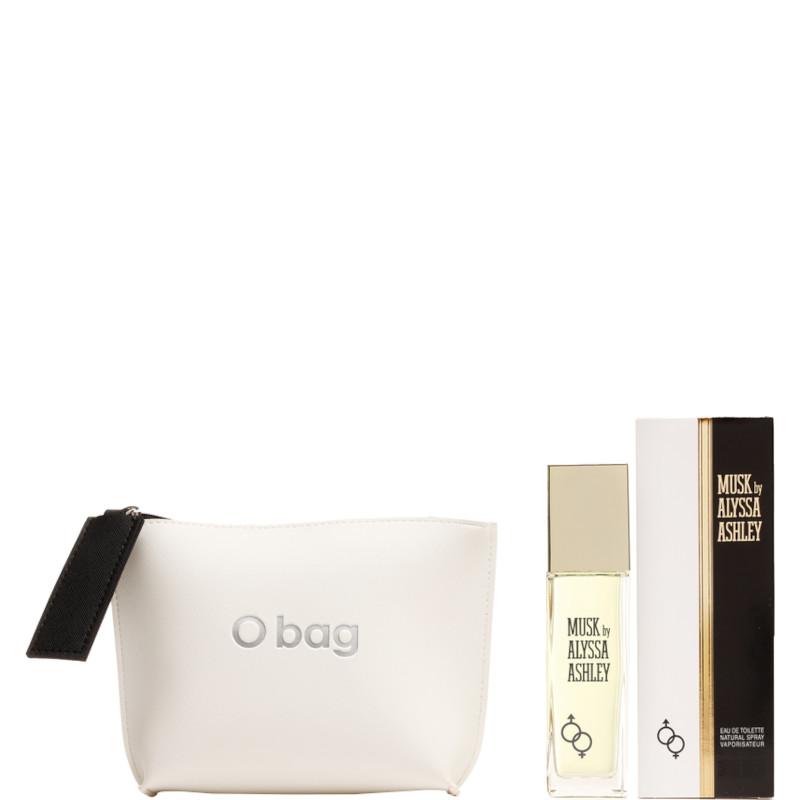Alyssa Ashley Musk EDT Confezione 100 ML Eau de Toilette + Pochette by O BAG