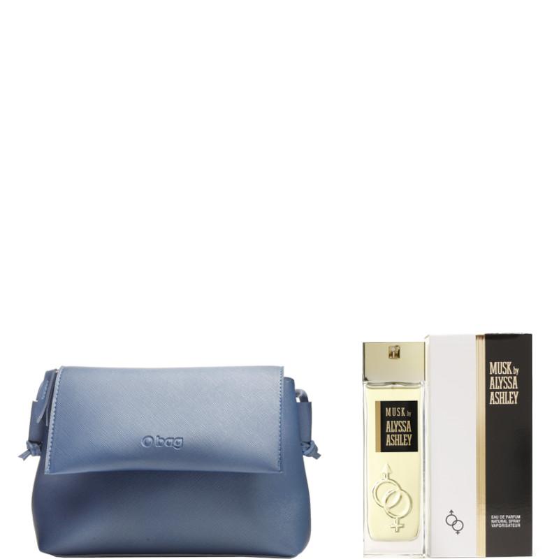 Alyssa Ashley Musk EDP Confezione 50 ML Eau de Parfum + Pochette O BAG