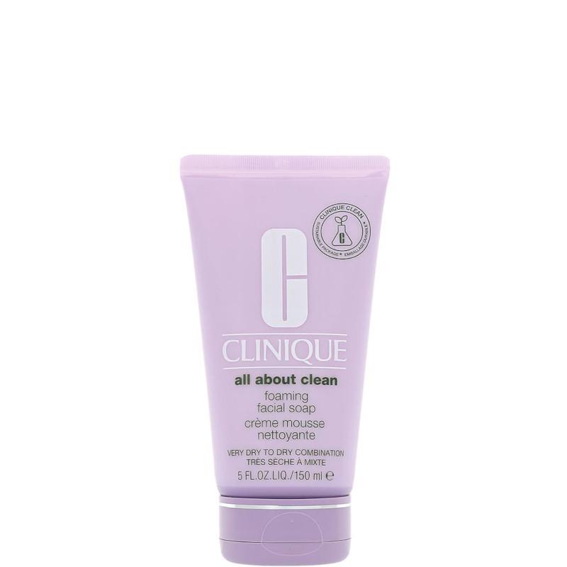 Clinique Foaming Facial Soap - Detergente in Schiuma Pelli da Secche a Miste 150 ML