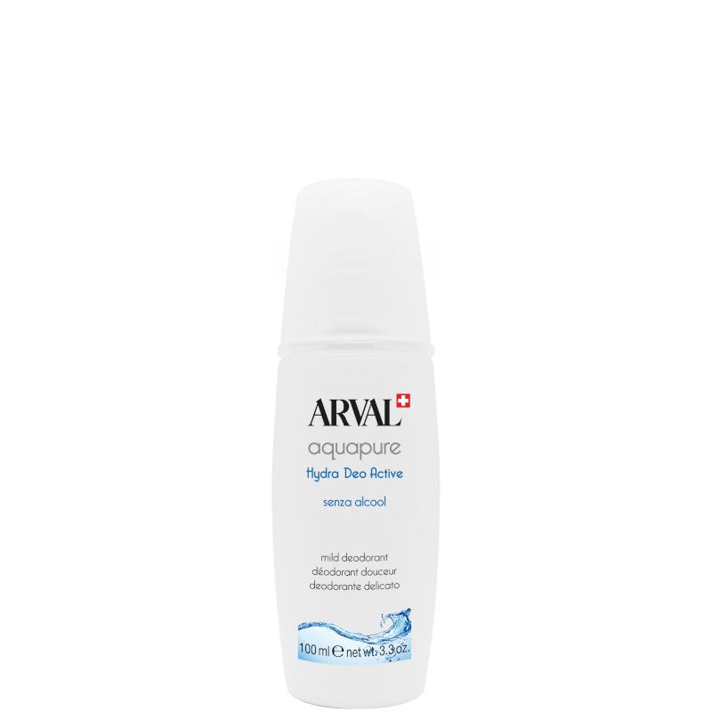 Arval Aquapure Corpo - Hydra Deo Active - Deodorante delicato senza alcool 100 ML