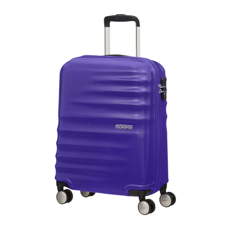 American Tourister Valigia Trolley Wavebreaker Spinner L Nautical Blue