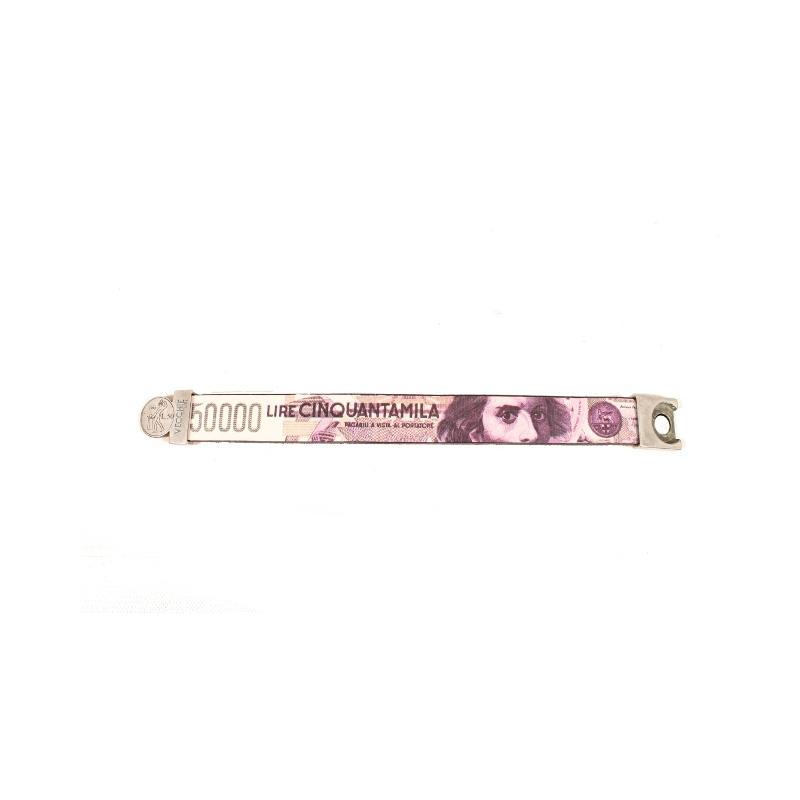 Vecchie lire bracciale 50000 50000 Lire M