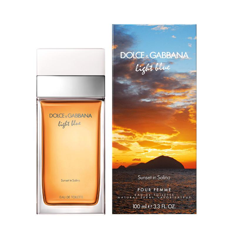 dolce gabbana light blue pour femme sunset in salina eau de toilette cod 13233. Black Bedroom Furniture Sets. Home Design Ideas