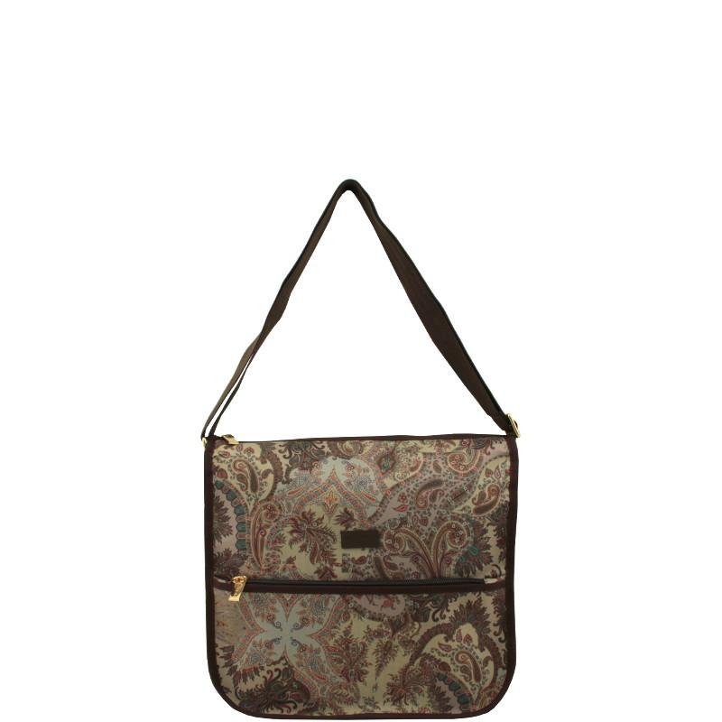 d3bbfee901 Etro Accessori Profumi Borsa Tracolla Shopping Bag Con Tasca C 38 03021 TIR.24  VAR