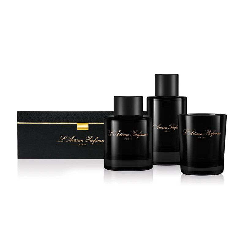 l 39 artisan parfumeur l 39 ambre gift set profumatori d. Black Bedroom Furniture Sets. Home Design Ideas
